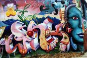 Graffiti de Lady Pink